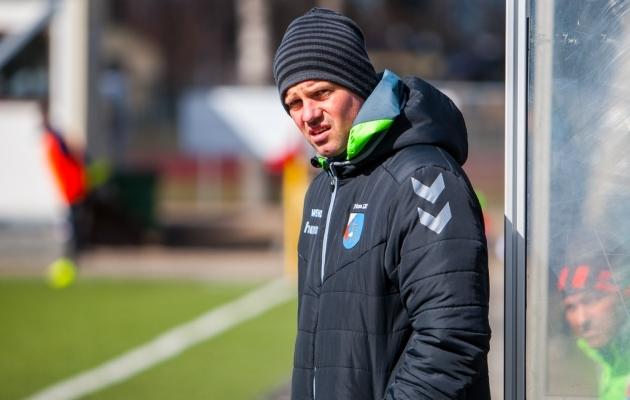 Marko Lelov jääb tõenäoliselt juhendama Pärnu meistriliigas mängivat meeskonda. Foto: Gertrud Alatare