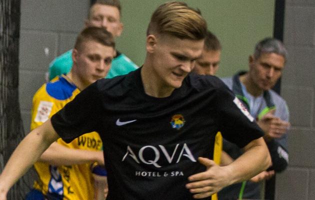 Juhan Jograf Siim vahetab Rakvere Tarva särgi uueks hooajaks Tartu Tammeka oma vastu. Foto: Brit Maria Tael