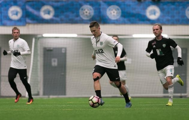 Svjatoslav Jakovlev lõi laupäeval Levadia vastu värava. Foto: Jana Pipar / EJL
