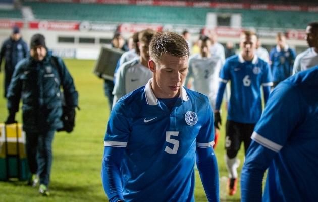 Trevor Elhi on mänginud Eesti noortekoondiste kõikides vanuseklassides, lisaks on tal kirjas ka mäng A-koondises. Foto: Brit Maria Tael