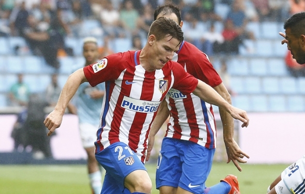 Kevin Gameiro. Foto: Atletico Madrid