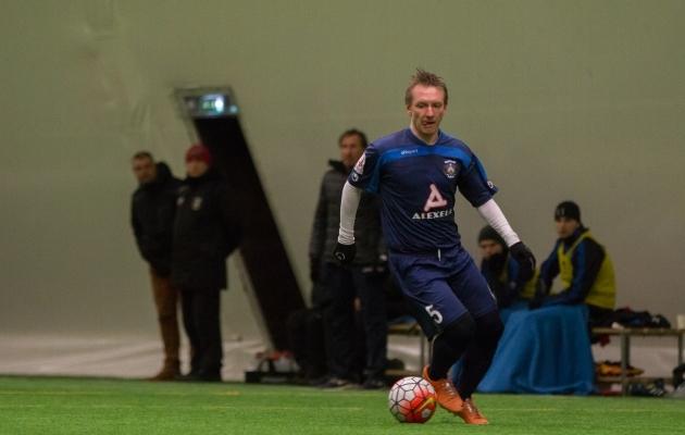 Daniil Ratnikov on tagasi Sillamäe särgis. Foto: Brit Maria Tael