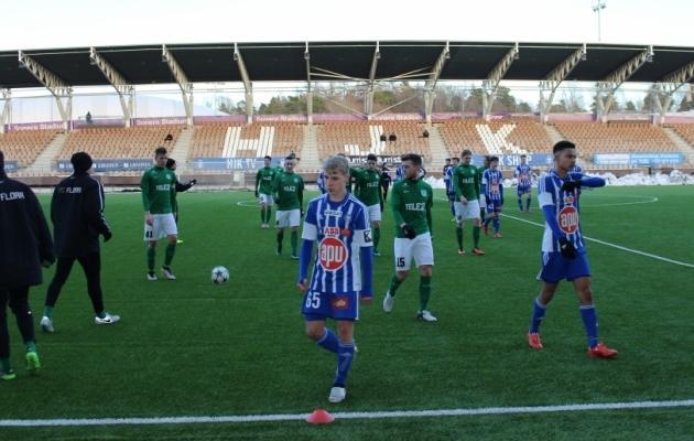 Helsingis lahkuti väljakult võitjatena. Foto: Flora koduleht
