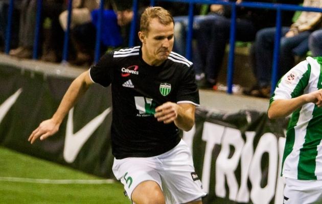 Levadia ajaloo üks suurimaid väravakütte Nikita Andrejev lõi taas klubiga käed. Foto: Gertrud Alatare (arhiiv)