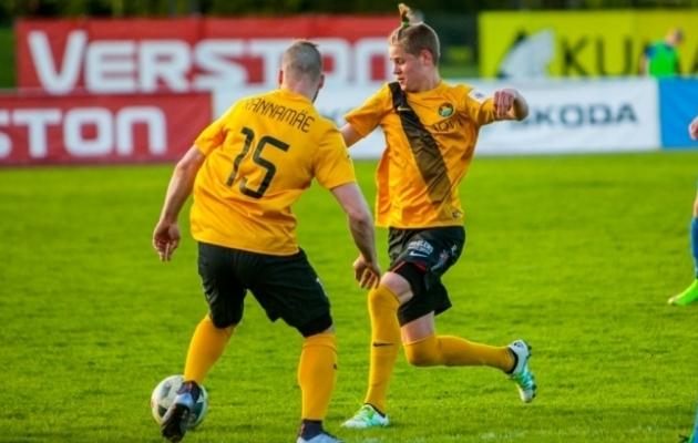 Mario Kuokkanen (paremal) debüteeris Premium liigas kõigest 16-aastasena. Foto: Gertrud Alatare