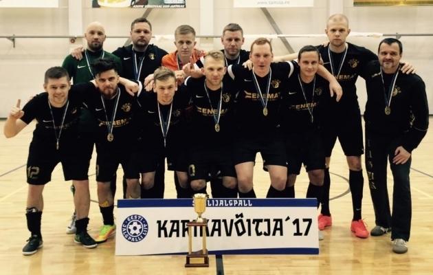 Augur Enemat alustab hooaega karikakaitsjana. Foto: jalgpall.ee