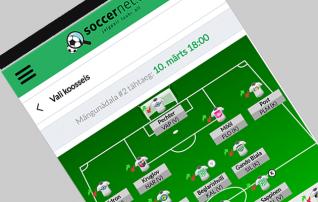 Jalgpalliliit ja Soccernet.ee alustasid koostööd