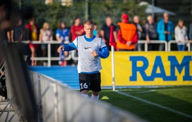 Ilja Antonov on Austrias korralikult mänguaega saanud ja klubil on läinud hästi. Kas mees pääseb taas koondisesse? Foto: Brit Maria Tael