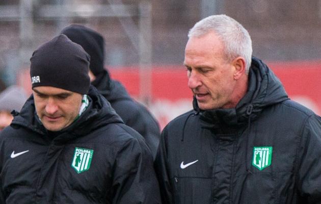 Arno Pijpers (paremal) koos Norbert Hurdaga. Foto: Brit Maria Tael