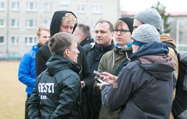Martin Reim tunnistas, et koosseisu tuleb muudatusi. Foto: Jana Pipar / EJL