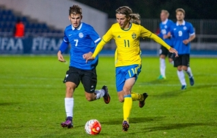 Otsepilt: Eesti U21 koondis kohtub Šotimaaga  (kell 21.30!)