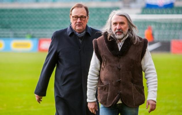 Teiste spordialade ja EOK suhtumine jalgpalli peab muutuma, ütles Pohlak. Foto: Gertrud Alatare