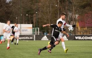 Infonet alistas Kalju penaltiseerias, Kuressaare sai üllatuskaotuse