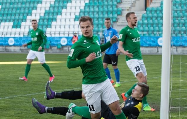 Rauno Sappinen on kogu liiga kõige enam pealelööke teinud mängija. Ka kõige rohkem pealelööke raamide vahele on teinud just tema. Foto: Oliver Tsupsman