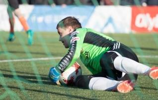 Narva Unitedit Infoneti vastu mängus hoidnud Artur Kotenko: see oli väga hea trenn minu jaoks