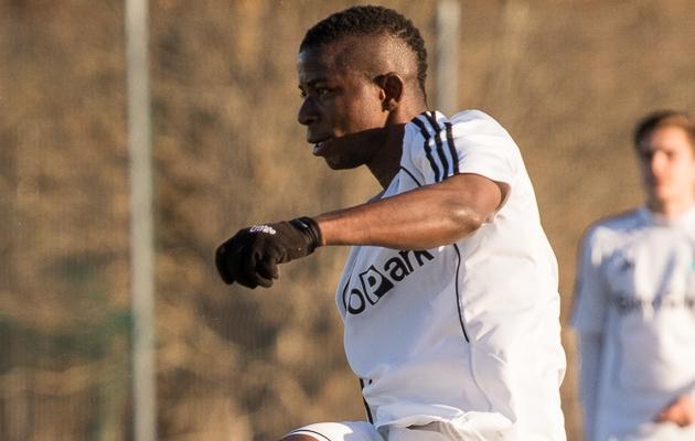 Levadia U21 värava autor William Opoku Asiedu. Foto: Oliver Tsupsman