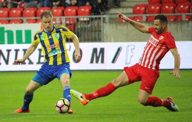 Viimati mängis Kink Ungaris. Hetkel on ta taas klubiotsinguil. Foto: mezokovesdzsory.hu