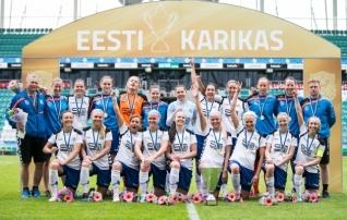 Pärnu ja Flora naised lähevad Balti liigasse suure võidu pealt