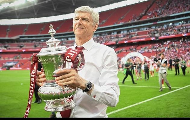 Wenger on asju võitnud, aga nüüd on mõttekoht. Foto: Arsenali koduleht
