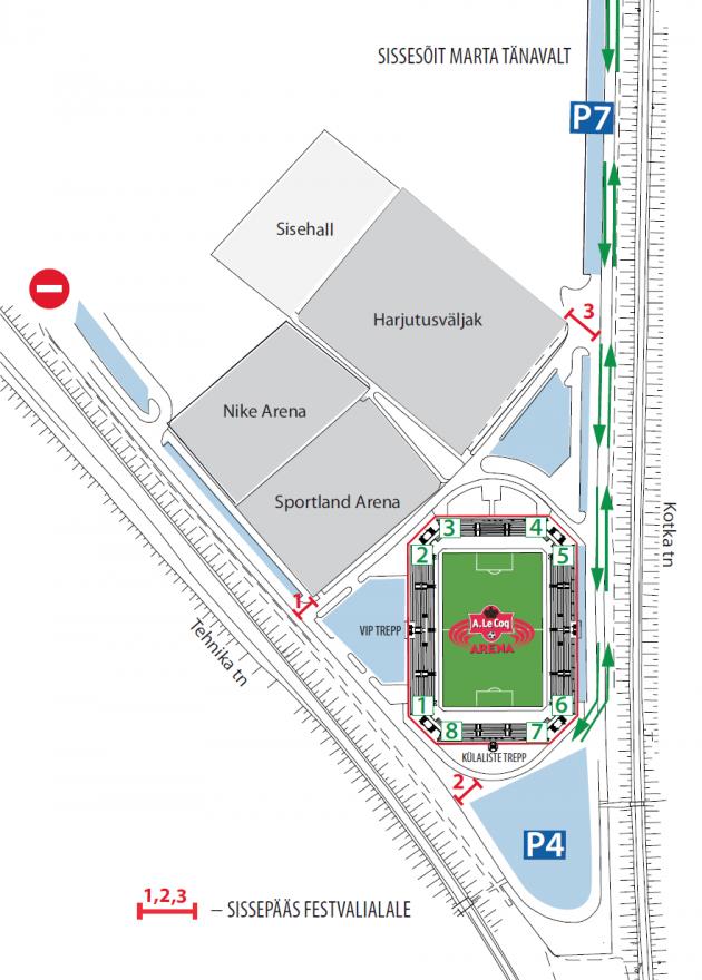 359cc5aa90e Eesti - Küprose mängu eel avatakse festivaliala - Soccernet.ee ...