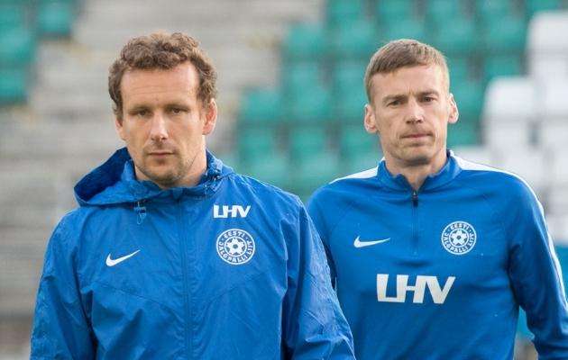 Vassiljev ja Dmitrijev - kälimehed. Foto: Oliver Tsupsman