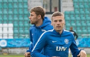 Eesti algkoosseis: Artjom Dmitrijev alustab Belgia vastu
