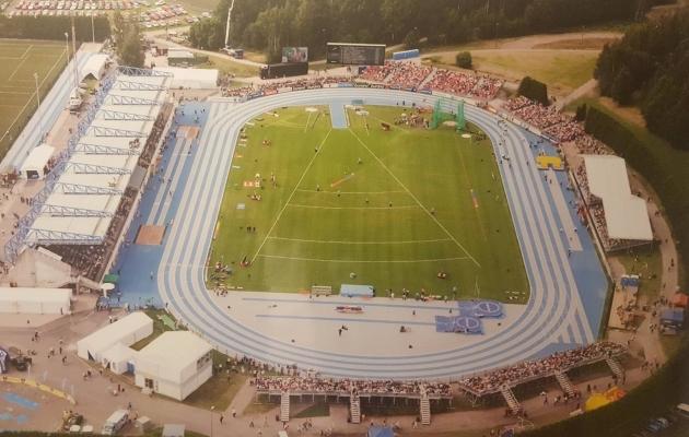 Leppävaara staadion-spordipark, suurim Espoos, on koduks ka kergejõustikule. Foto: suurleppavaara.info