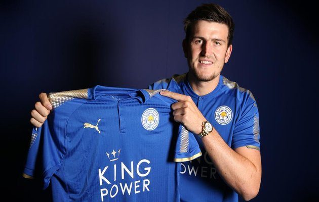 Harry Maguire. Foto: Leicester City twitter