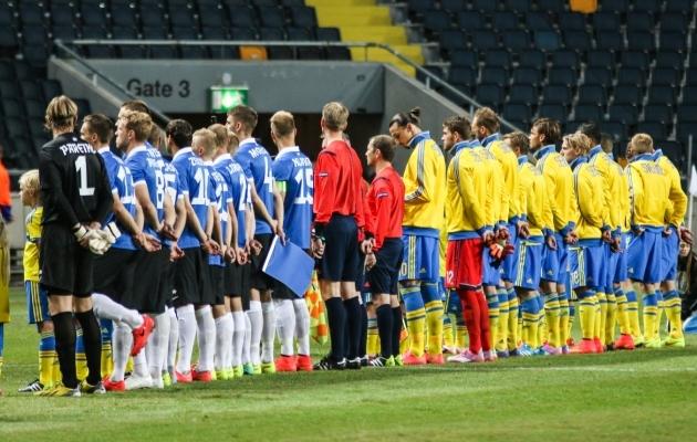Aasta esimeseks suureks jalgpallisündmuseks on Rootsi - Eesti maavõistlus. Foto: Jana Pipar