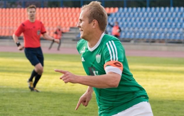 Nikita Andrejev tegi kaheksa pealelööki. Foto: Oliver Tsupsman