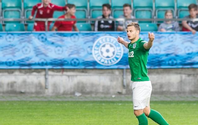 Rauno Sappinen on Transfermarkti arvates Premium liiga kõige hinnalisem jalgpallur. Foto: Brit Maria Tael