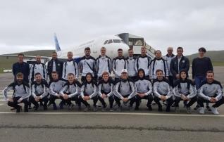 Fotod: Eesti klubide neljapäevased vastased on Tallinnasse jõudnud
