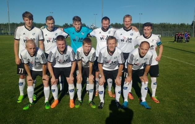 Keila algkoosseis mänguks Nõmme Kalju U21-ga. Foto: Keila JK Facebook