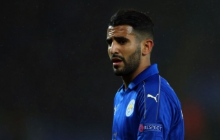 Mahrez on ühe jalaga Romas