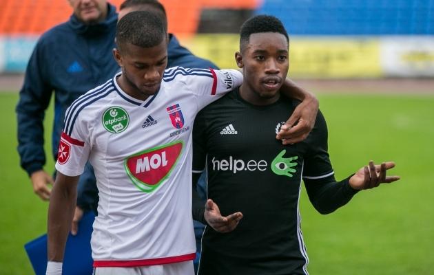 Prantslane Reginald (paremal) saaks Kalju ime korral kohtuda oma kodumaa klubiga. Foto: Brit Maria Tael