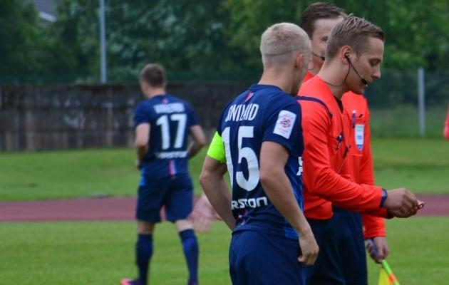 Andre Frolovi puudumisel kannab kaptenipaela Sander Sinilaid. Foto: Liisi Troska