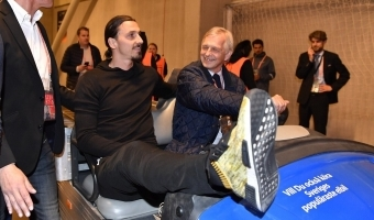 Zlatan on kunn - mees paraneb kiiremini kui keegi teine