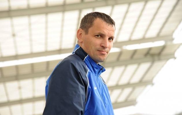 Jõhvi peatreeneripostile asub Andrei Škaleta. Foto: Soccernet.ee (arhiiv)