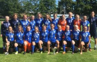 Video: Malešina skooris otse karistuslöögist ja tüdrukud võitsid Balti turniiri