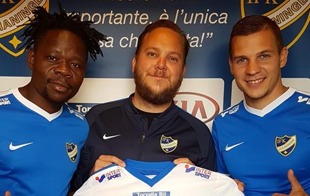 Maksim Lipin uue klubi särgis. Foto: IFK Haninge