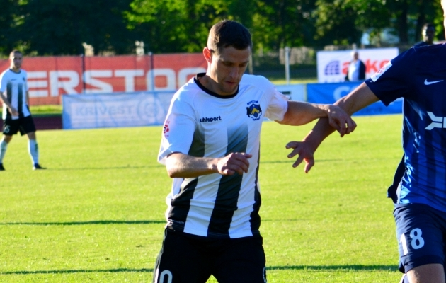 Aleksandr Volkov lõi kahe päeva jooksul viis väravat. Foto: Liisi Troska