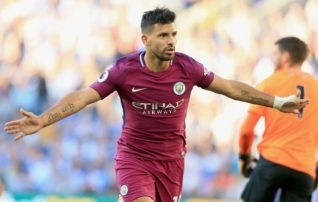 City nägi Newcastle'iga vaeva, aga Agüero kübaratrikk tõi oodatud tulemuse