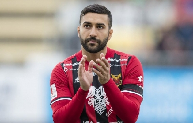 Saman Ghoddos tegi tänavu debüüdi Rootsi koondises, kuid otsustas nüüd Iraani kasuks. Foto: iransportspress.com