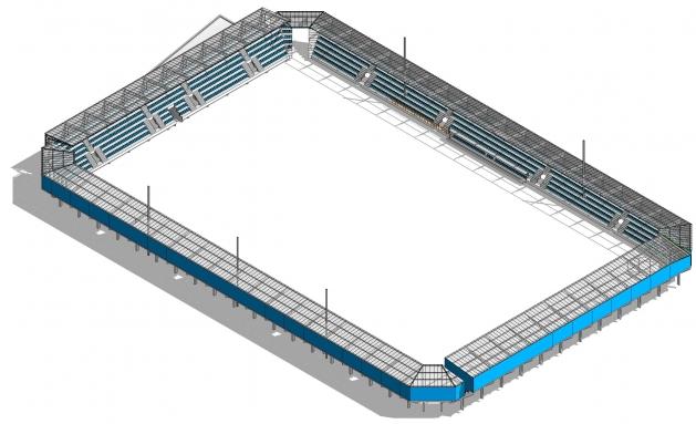 Selline peaks Sportland Arena välja nägema mõne aasta pärast. Kliki pildil suuremalt vaatamiseks.