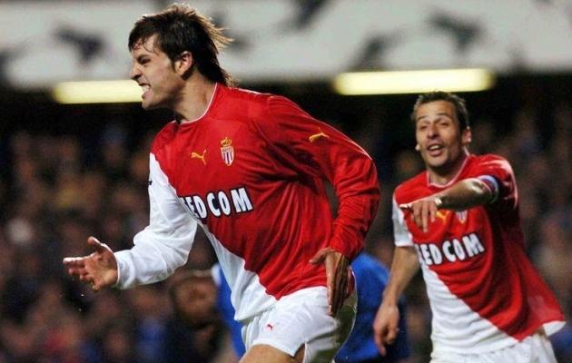 Morientes (vasakul) ja Giuly elasid ja hingasid Monaco nimel. Foto: kaisermagazine.com
