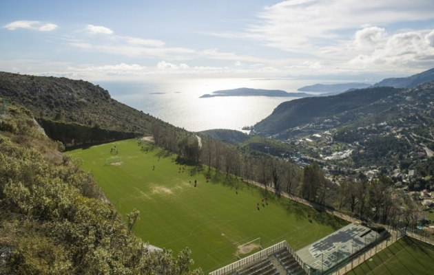 Monaco treeningkeskus La Turbie. Foto: asmonaco.com