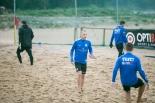 Eesti rannajalgpalli koondise treening Kakumäel