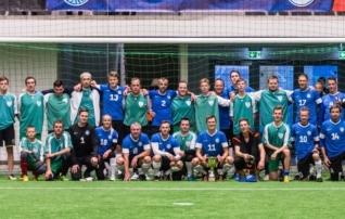 Jalgpalliliidu võistkond avab Vaimastevere Arena valgustuse