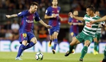 Karikatuur, kus Messi ja Ronaldo särgiriputamised saavad uue tähenduse