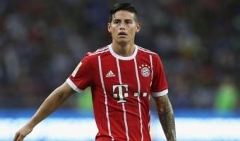 James näitas Bayerni ridades head puudet